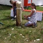 Fotos von Sabine, Ida und Emma am Sonntag bei KulturPur2011