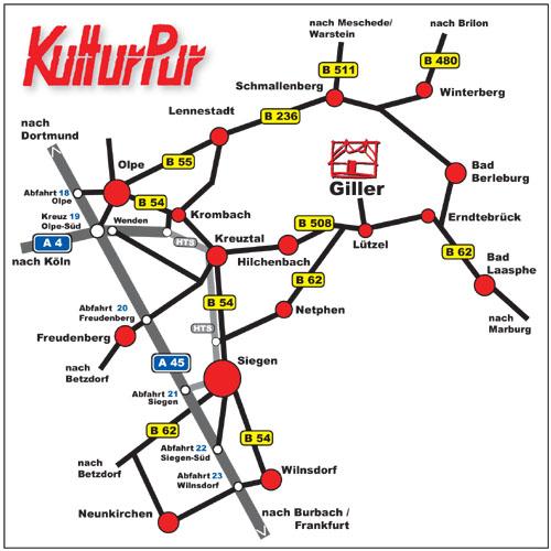Anfahrtskizze KulturPur