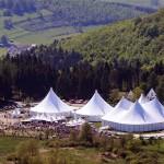 Luftbild von KulturPur 2008. Foto: René Achenbach