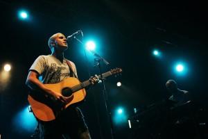 Milow live. Foto: Marcel Nöpel