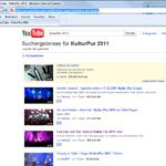 Zuschauer-FILM-Kameras auf Youtube